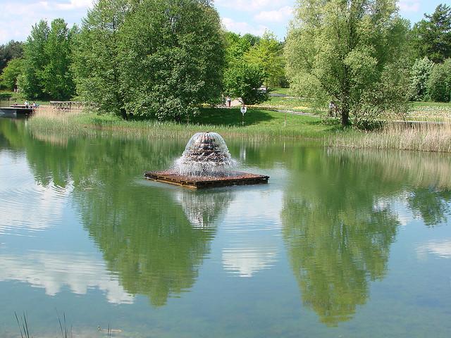 Idylle im Britzer Garten