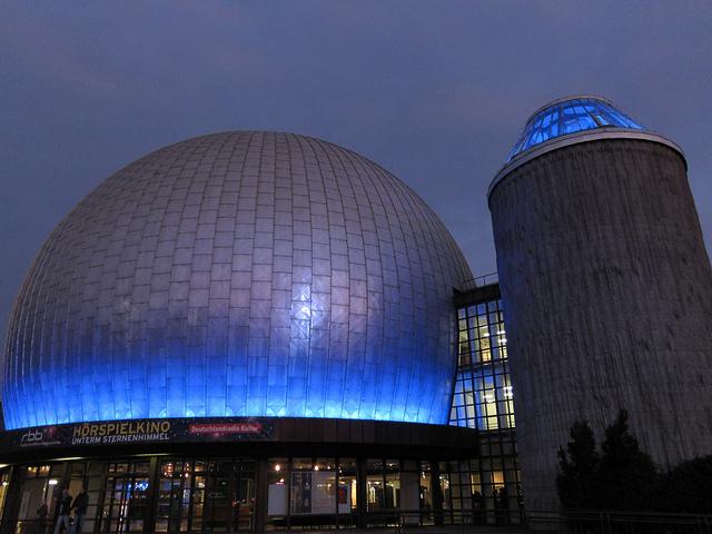 Das Zeiss Planetarium in Pankow